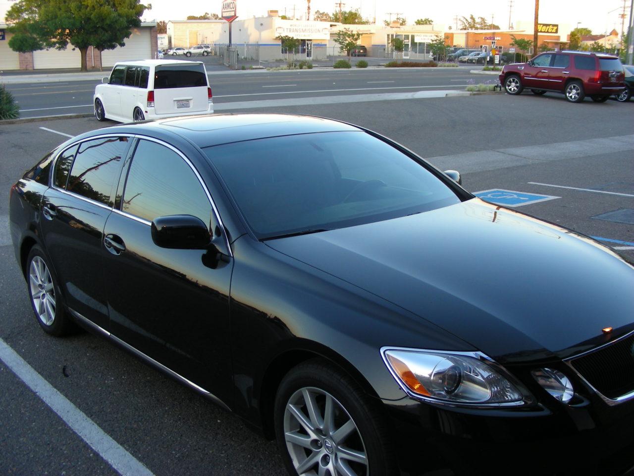 Lexus GS Tint (3)