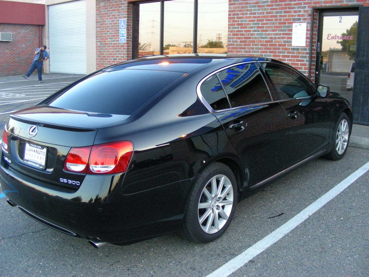 Lexus GS Tint (2)
